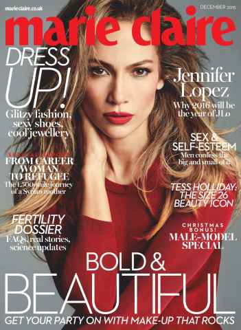 Marie Claire issue December 2015