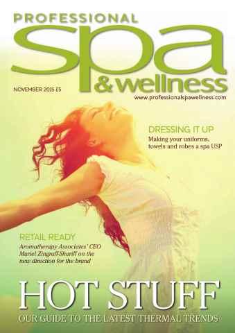 Professional Spa & Wellness issue Professional Spa & Wellness November 2015