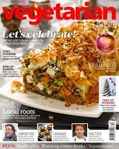 Vegetarian Living issue Dec-15