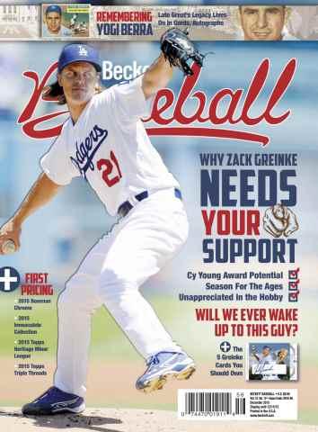 Beckett Baseball issue December 2015