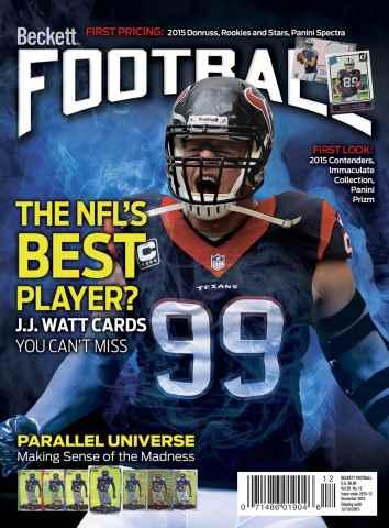 Beckett Football issue December 2015