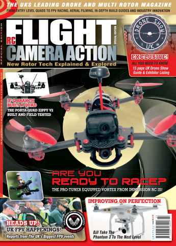Flight, Camera, Action issue Issue 3