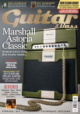 Guitar & Bass Magazine Preview 1