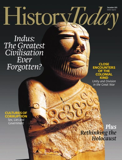 History Today issue December 2015