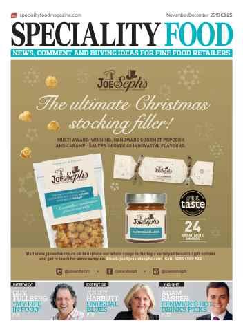 Speciality Food issue Nov/Dec 2015
