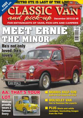 Classic Van & Pick-up issue Vol. 16 No. 2 Meet Ernie the Minor