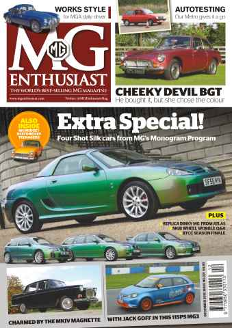 MG Enthusiast issue Vol 45. No. 13 Extra Special