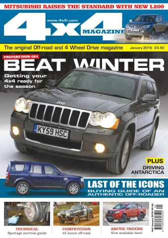 4x4 Magazine issue No. 382 Beat Winter