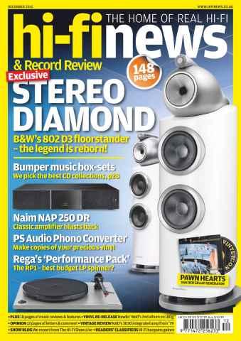 Hi-Fi News issue December 2015