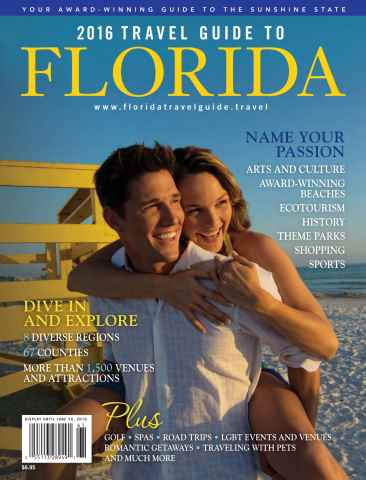 Globelite Travel Guides issue 2016 Florida Guide
