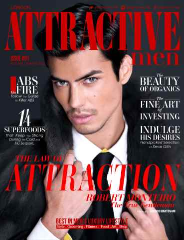 Attractive Men Magazine issue Attractive Men #01