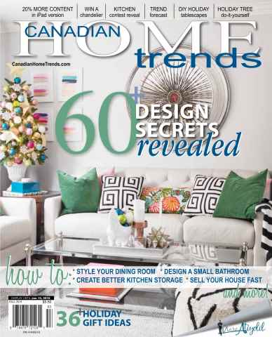 Canadian Home Trends issue Fall 2015