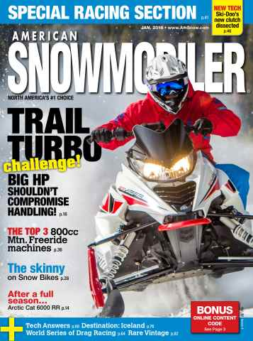 American Snowmobiler issue January 2016