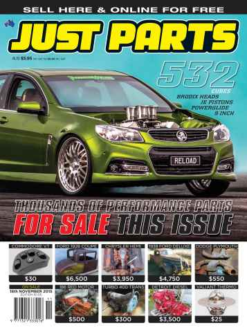 JUST PARTS issue 16-005