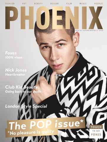 PHOENIX issue THE POP ISSUE | AW15