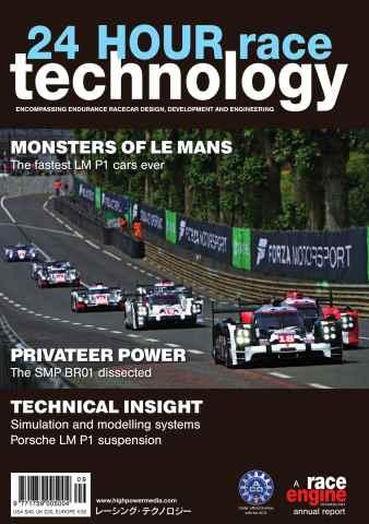 24 HOUR Race Technology issue Volume 9 - September 2015