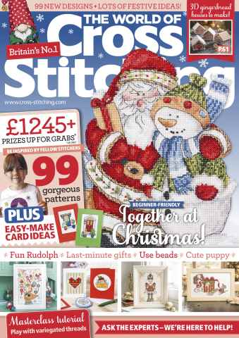 The World of Cross Stitching issue December 2015