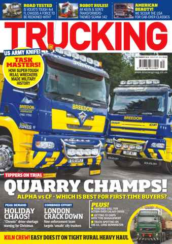 Trucking Magazine issue No. 384 Quarry Champs!