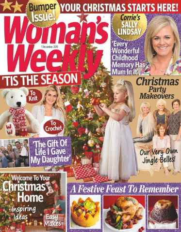 Womans Weekly issue 1st December 2015