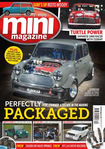 Mini Magazine issue No. 245 Perfectly Packaged