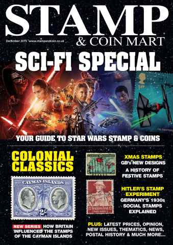 Stamp & Coin Mart issue Star Wars stamps special issue - December 2015