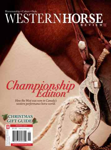 Western Horse Review issue Champs Issue