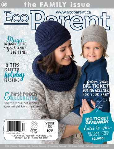 Ecoparent Magazine issue THE FAMILY ISSUE