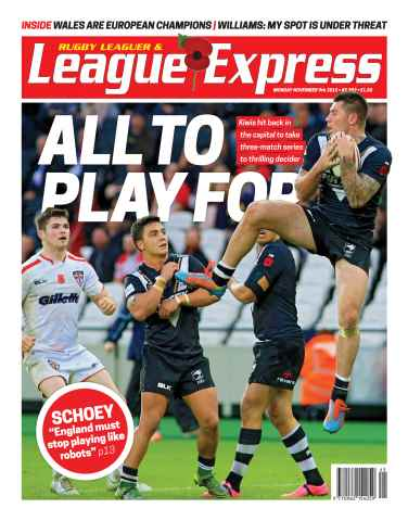 League Express issue 2992
