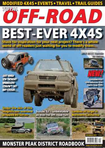 Total Off Road Magazine issue December 2015