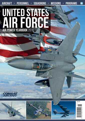 Aviation Specials issue US Air Force Air Power Yearbook 2016