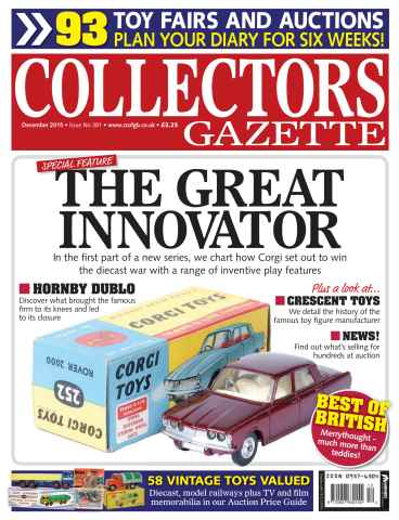 Collectors Gazette issue December 2015