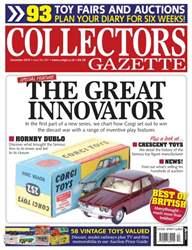 Collectors Gazette issue December 2015