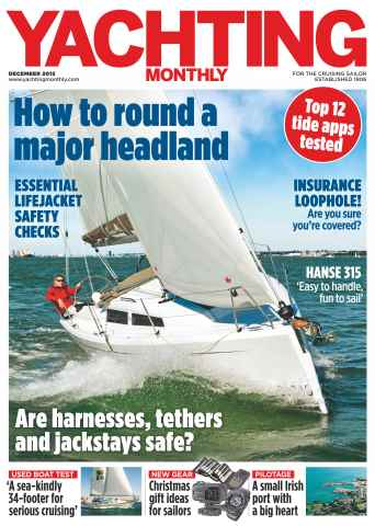 Yachting Monthly issue December 2015