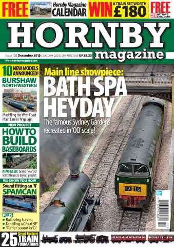 Hornby Magazine issue December 2015