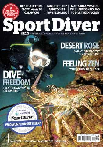 Sport Diver issue December 2015