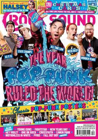 Rock Sound Magazine issue December 2015