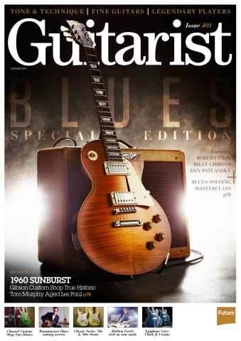 Guitarist issue December 2015