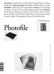 Photofile issue Autumn/Winter 2015-16 - The photobook issue