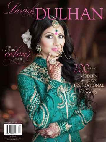 Lavish Dulhan issue Summer/Fall 2015