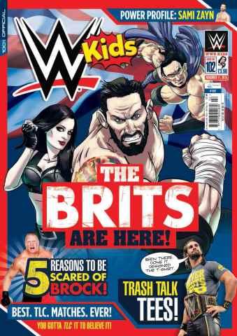 WWE Kids issue No.102