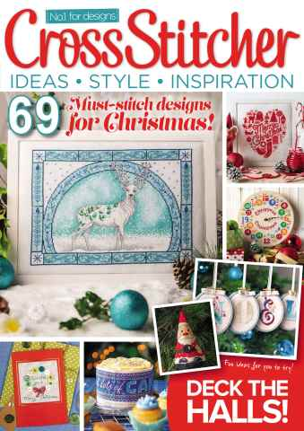 CrossStitcher issue December 2015