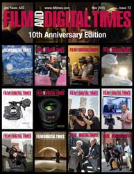 Film and Digital Times issue Nov 2015 - Issue 73
