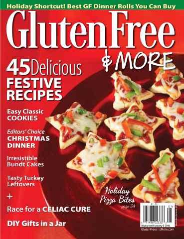 Gluten Free & More issue Dec/Jan 2016