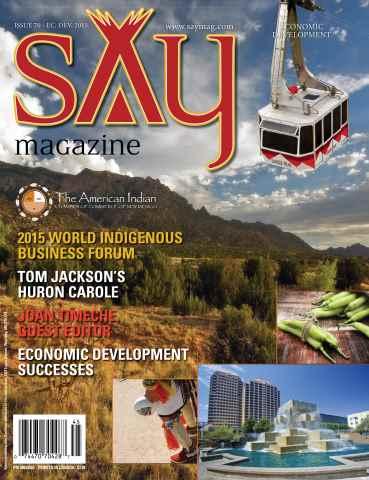 Say Magazine issue Economic Development