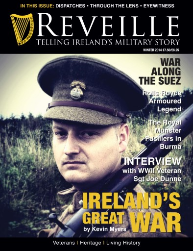 Ireland's Military Story issue Reveille- Irelands Military story- Winter 2014