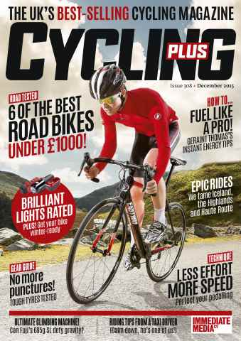 Cycling Plus issue December 2015