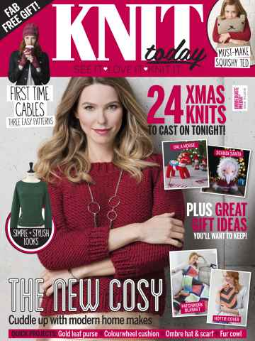 Knit Today issue December 2015