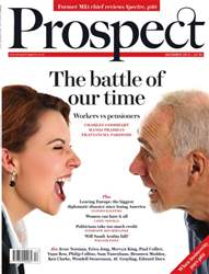 Prospect Magazine issue Prospect December 2015