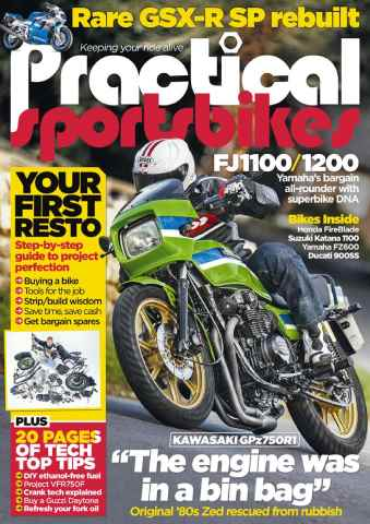 Practical Sportsbikes issue December 2015