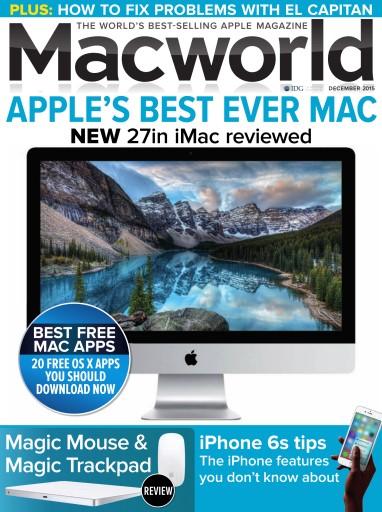 Macworld UK issue December 2015